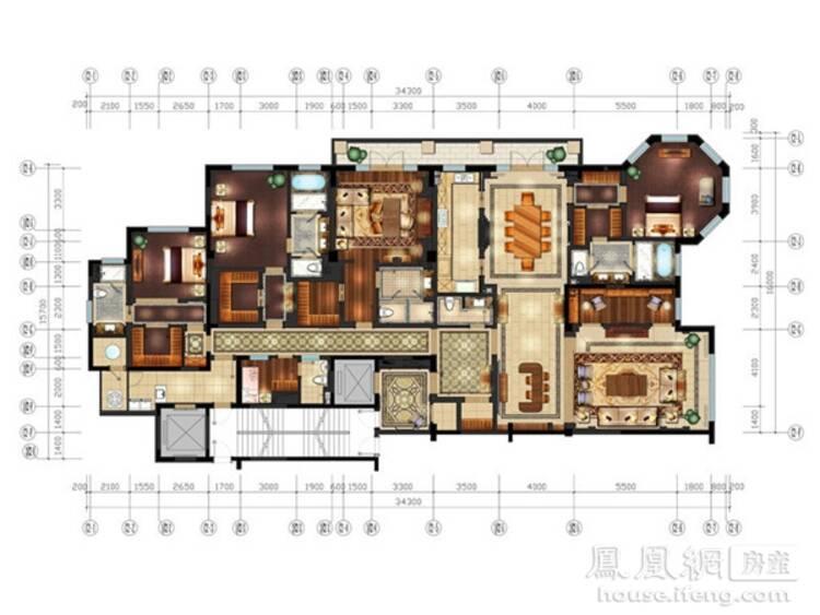 城堡平面图设计图