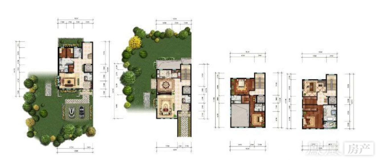 别墅120m²平面图