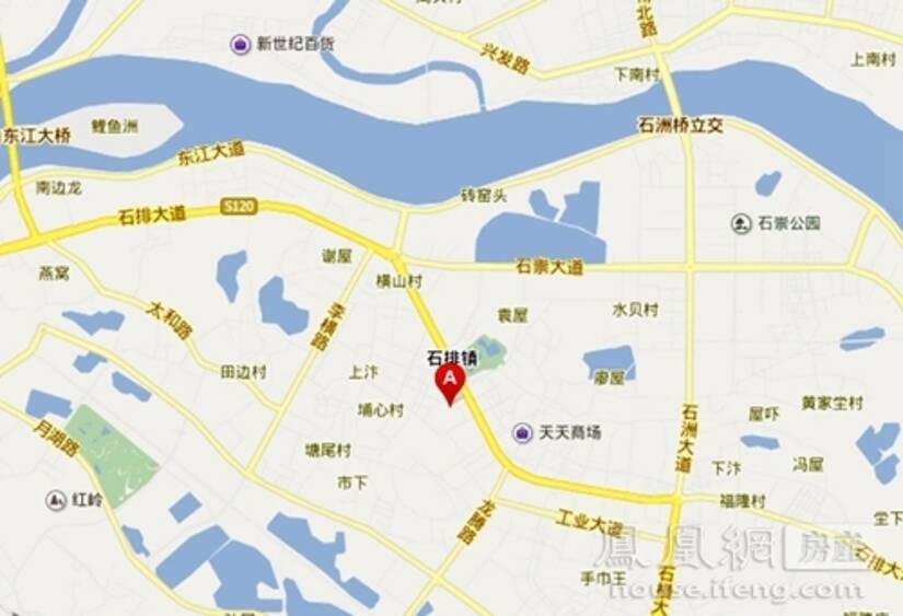 石排镇老街地图