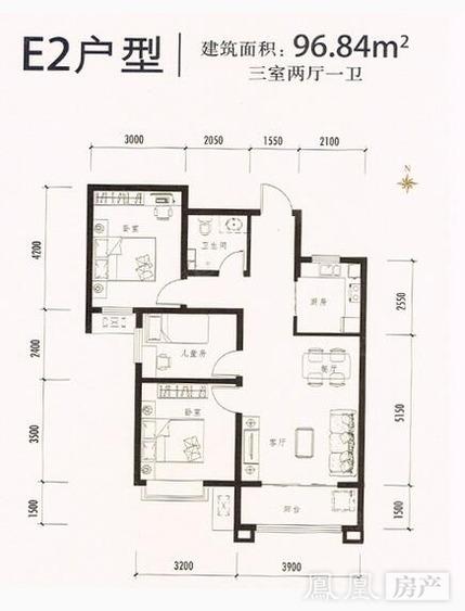 紫城秦皇半岛户型-北京凤凰网房产