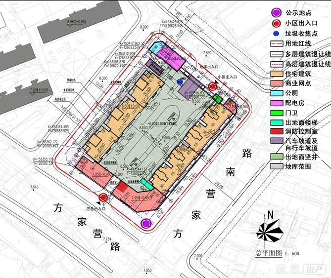鹤山市滨江路工程规划图