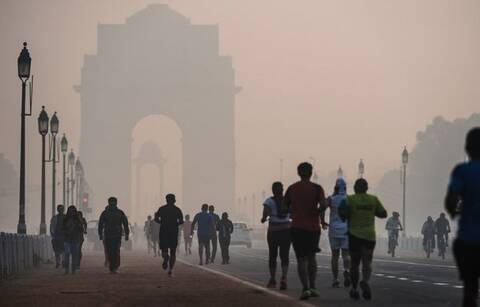 烟雾中的风景,全球雾霾之都 - hubao.an - hubao.an的博客
