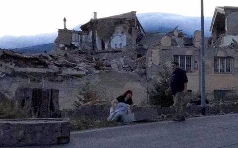 意大利中部发生6.2级地震_罗马震感强烈