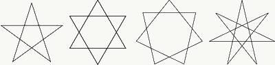 文/刘大可 五角星是幼儿园的小孩子都能一笔画出来的简单几何形状.图片