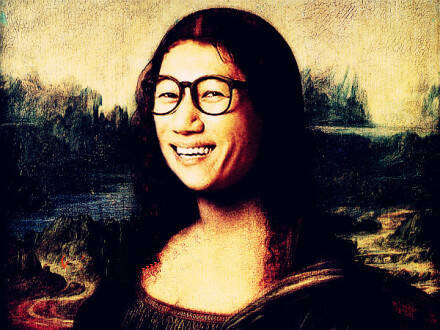 蒙娜丽莎神秘的微笑之runningman 你确定都能认出?图片