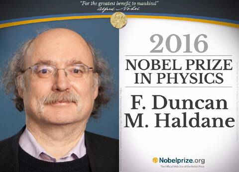 2016年诺贝尔物理学奖 - 物理 - 物理
