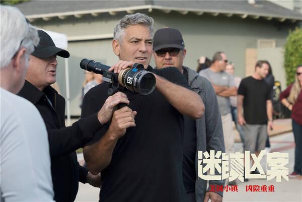 乔治·克鲁尼拍《迷镇凶案》 开心马特·达蒙变胖