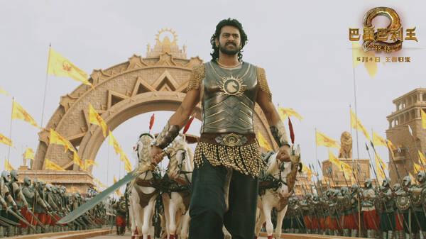 《巴霍巴利王2:终结》定档5月4日 展现古印度传奇