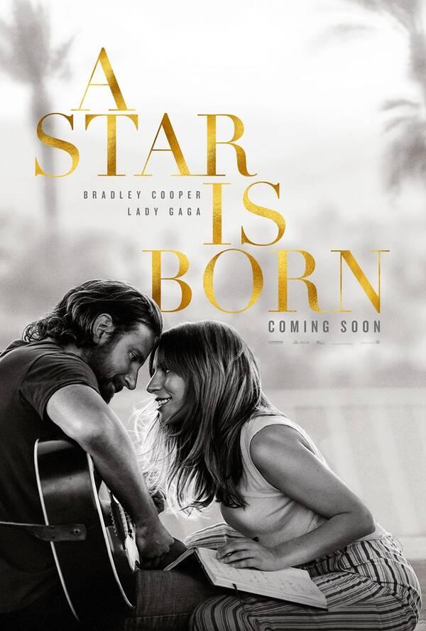 《一个明星的诞生》曝海报预告 Lady Gaga深情开唱