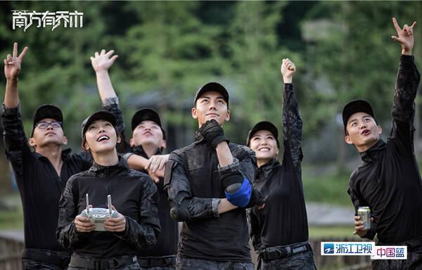 陈伟霆新歌首秀 浙江卫视解锁时樾style