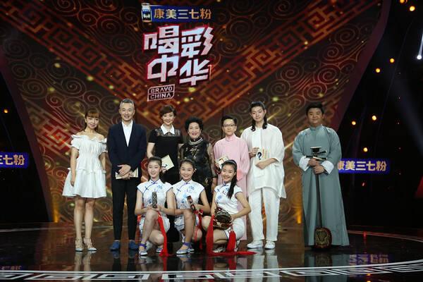 东方卫视中华系列星光奖大放异彩 《喝彩中华》获奖