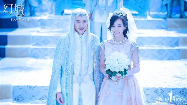 《幻城》大婚照美哭 冯绍峰宋茜麦迪娜三人关系微妙