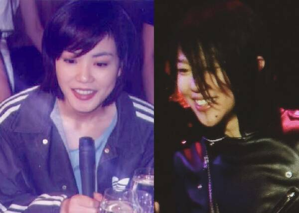 看王菲年轻时的照片,现在的窦靖童跟她一模一样(图)