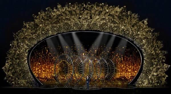 第90届奥斯卡舞美首曝光 4500万块水晶构成太豪气!