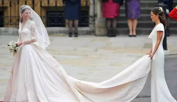 哈里王子准王妃将穿10万英镑婚纱 王室婚纱哪件最美?