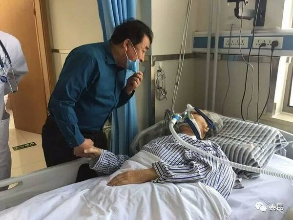 唐杰忠5月曾因癌症引起大出血 姜昆赴医院探望