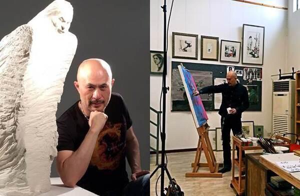 三级片教父变艺术家 他一幅画卖到150万!(图)