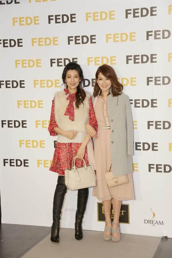 林若亚(左)及Melody出席活动