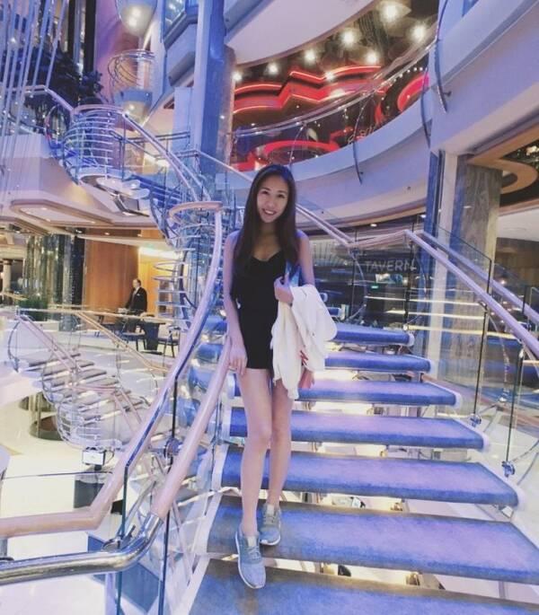 李丽珍女儿遗传妈妈好基因 长腿逆天身段性感(图)
