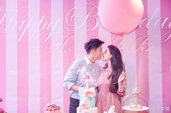 """""""我们""""要结婚啦!范冰冰36岁生日这天 李晨求婚成功"""