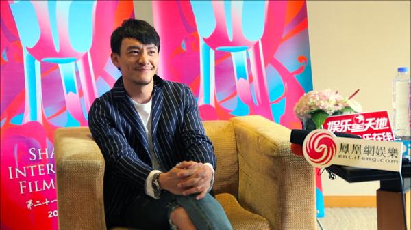 专访上影节评委张震:刚拍完喜剧,想开发电影项目