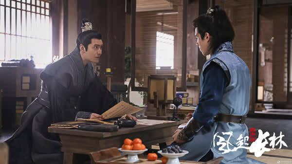 《琅琊榜2》黄晓明下线虐哭观众 刘昊然弃江湖戍边关
