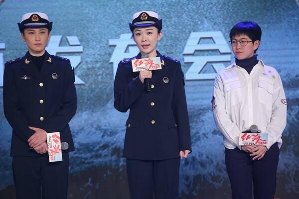"""《红海行动》首映 霍思燕杜江体验""""异地恋""""感慨多"""