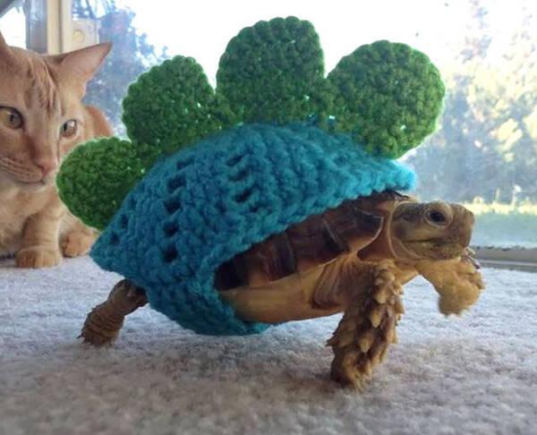 宝宝小动物背心编织 图案