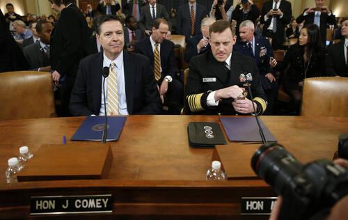 """FBI首次承认:正调查特朗普与俄罗斯是否""""勾结"""""""