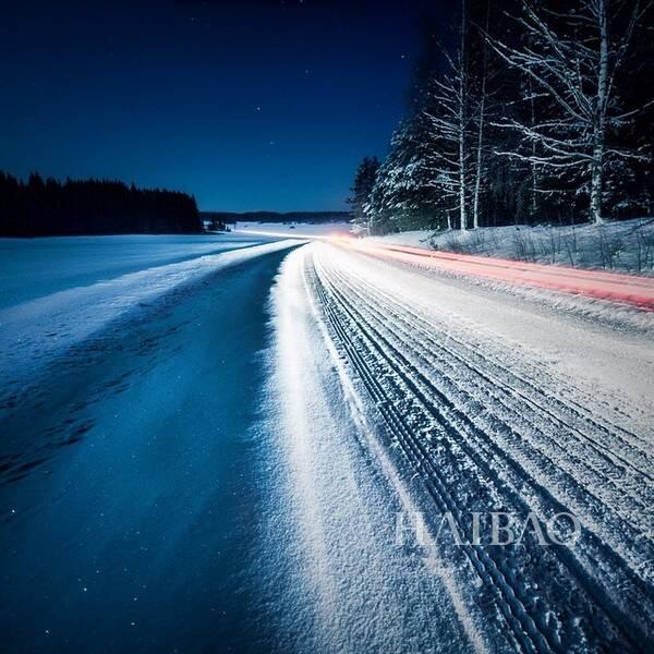 美的雪景 还有梦幻的星空