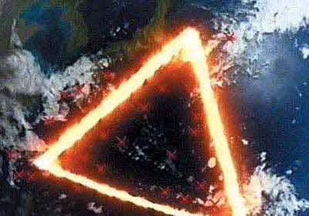 百慕大三角海底出现水晶金字塔