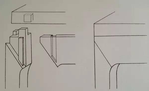 明清家具榫卯结构 | :高束腰结构