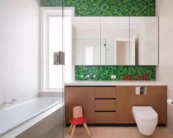 这些浴室太美了,后悔家里装修得太早了!