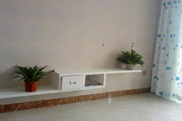 开灯状态,灯,沙发背景(漂亮边框没有拍到),地面均为一色吻合.