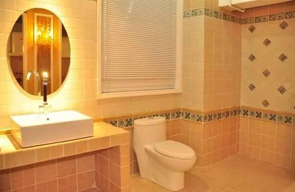 卫生间装修十原则,除了防水还需注意这些!
