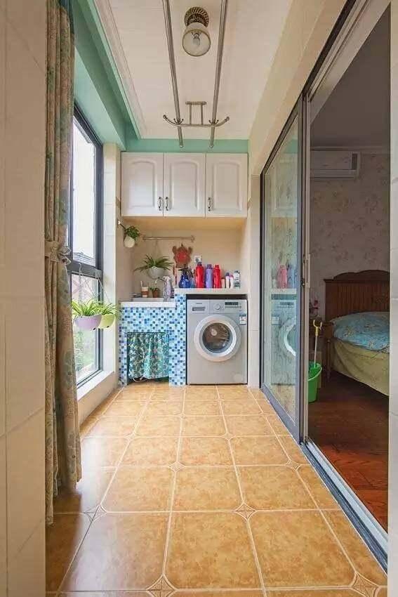 108平混搭两居室装修,双阳台的效果就是好!