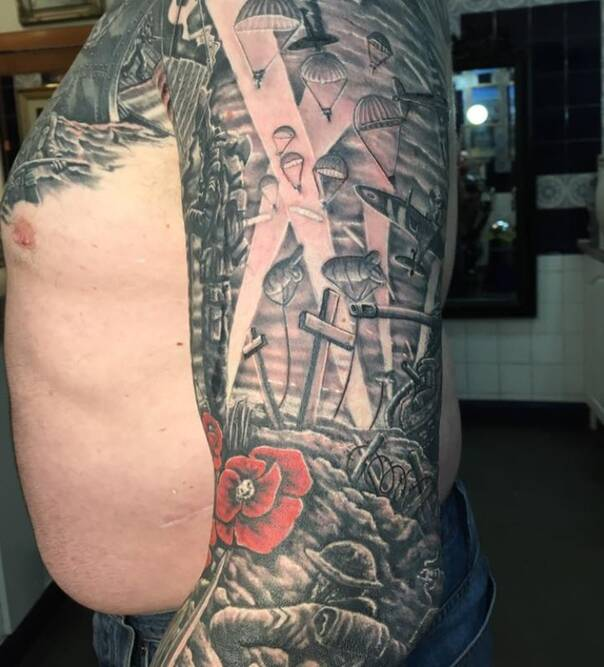 17年前的失败纹身 被纹身师神救援后成品帅呆了
