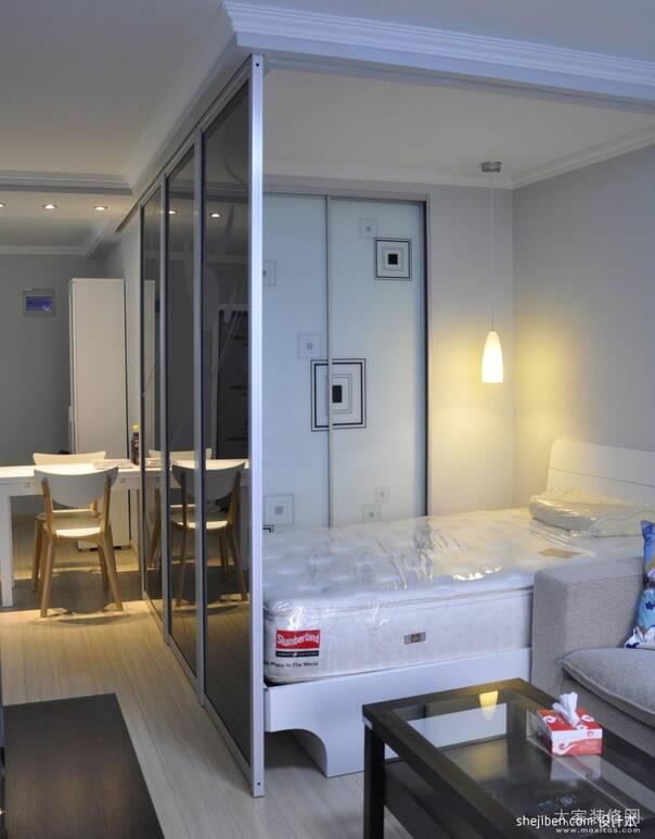 玄关隔断装修效果图|装修客厅和卧室之间用什么材料