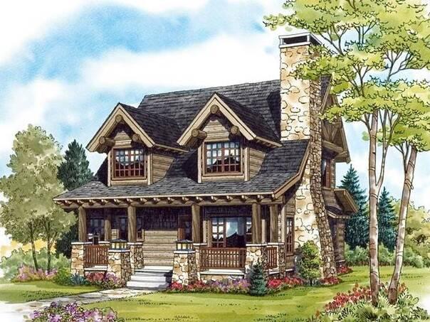 农村建房子 来套木屋怎么样?图片