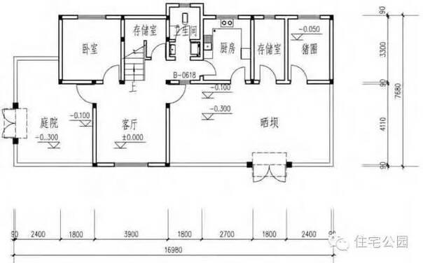 5套农村中式建房户型 30万搞定小二楼 收了回村盖