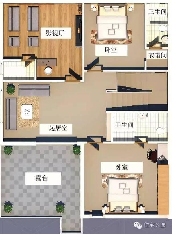 农村现代风格自建房 10米x12米 砖混结构只要18万?
