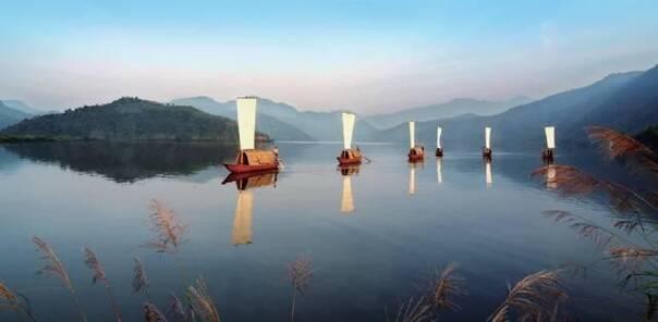 """桃花岛  十多年来,浙江""""像保护眼睛一样保护生态环境,像对待生命一"""