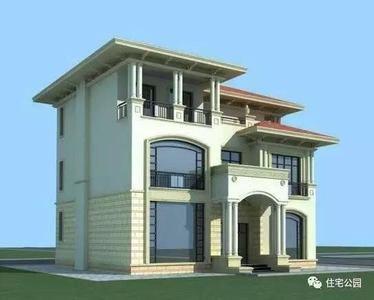 信息中心 11x11米三层法式农村别墅--法式建筑风格   请问美国华盛顿