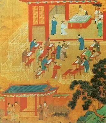 古代教书简笔画