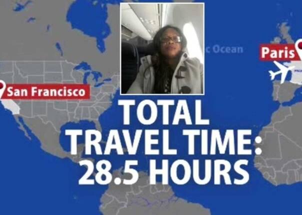 美联航又闹幺蛾 把要去巴黎的乘客送到了旧金山