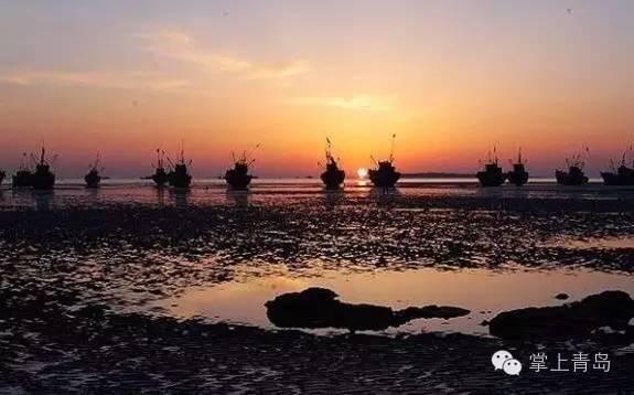 从南屯码头(在金沙滩风景区方向)乘船前往竹岔岛.