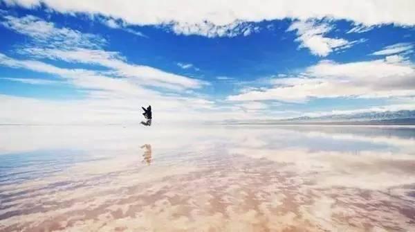 天空湖水ps素材近景