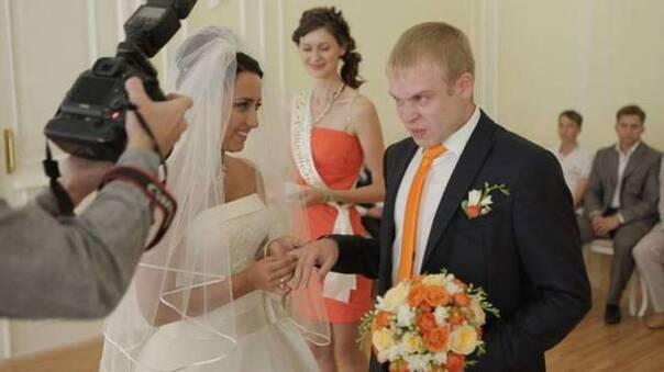 最幸福的时刻,就是结婚的时候啦