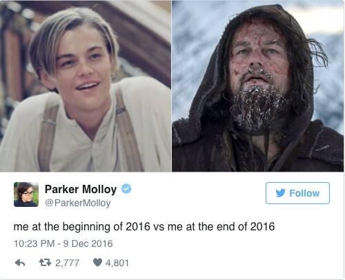 2016年年初的我vs2016年年末的我