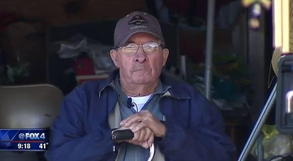 车祸后汽车爆燃 85岁老人用拐杖砸窗救出2名姑娘